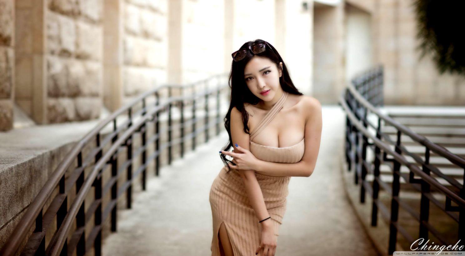 Asian Brunette Girl Hd Wallpaper Wallpapers App