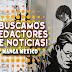 ¡Buscamos redactores de noticias! ¡Únete a Manga México!