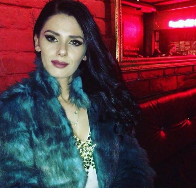 Kostandina Mata in an club
