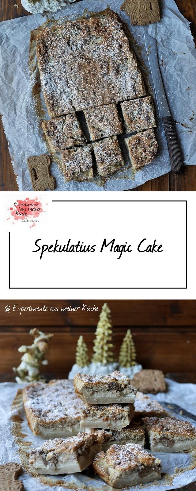 Experimente Aus Meiner Kuche Spekulatius Magic Cake