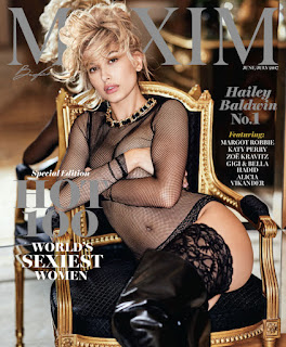 Hailey Baldwin Maxim Hot 100 Cover