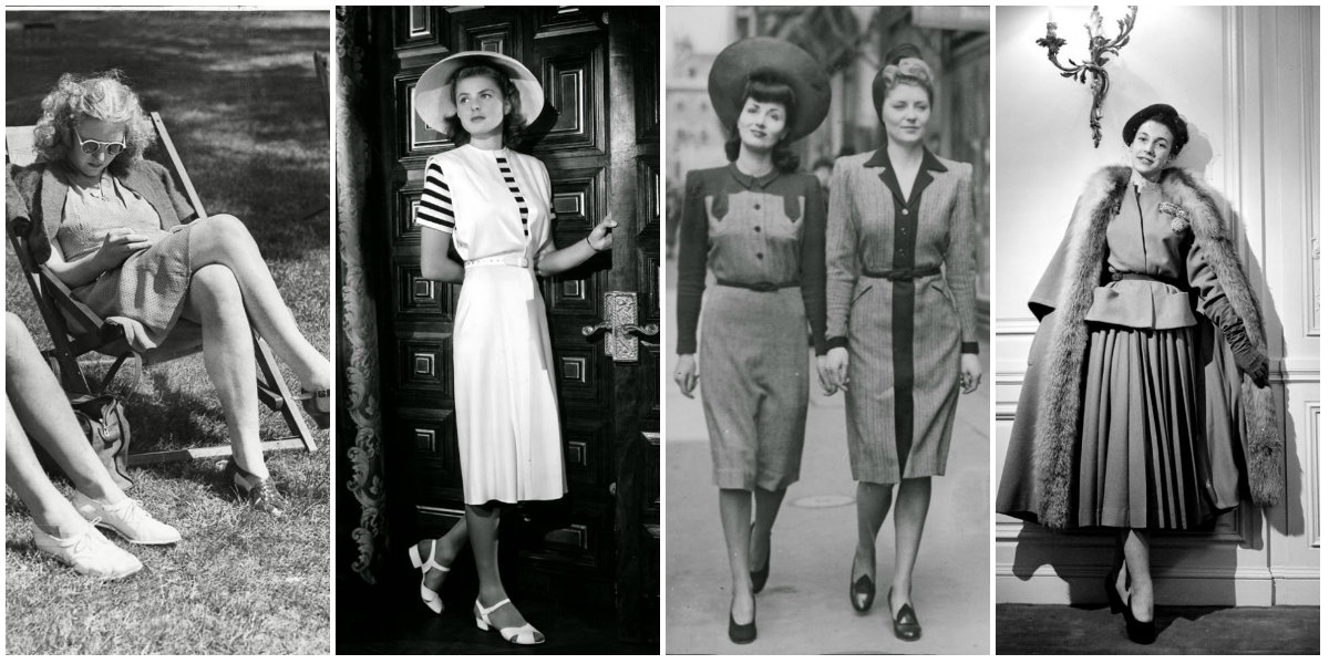 1940s Fashion and Style Trends in 40 Stunning Pictures   vintage     Here  some of the best of the 1940s fashion and style trends highlight by  Francesca Rice from Marie Claire in 40 stunning pictures