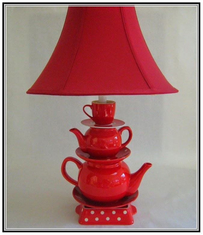 Anthropologie Lamps: Anthropologie Teapot Lamp
