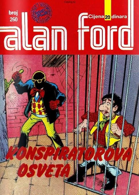 Konspiratorova osveta - Alan Ford