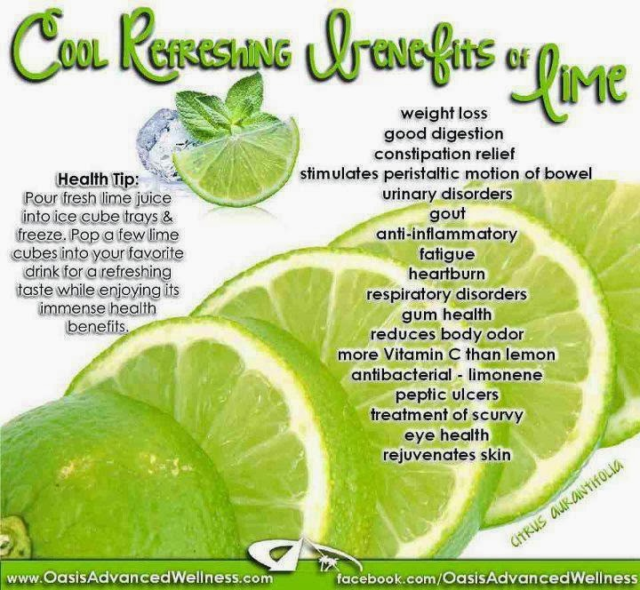 Lime's Health Benefits
