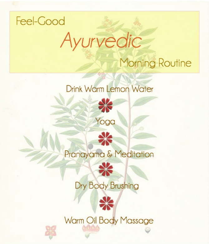 Ayurvedic Morning Routine