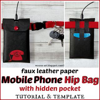 MobilePhoneHipBag wesens-art.blogspot.com