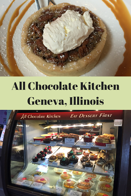 All Chocolate Kitchen chocolate adventure in Geneva, Illinois