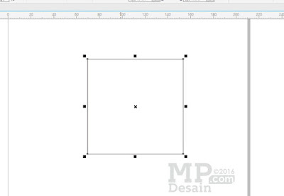 Membuat Persegi Menggunakan Rectangle Tool