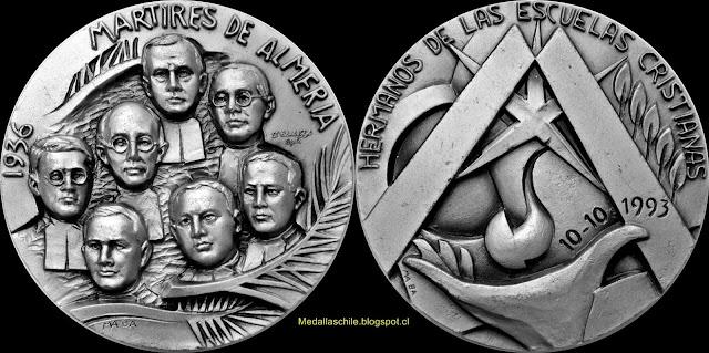 Medalla Mártires de Almeria