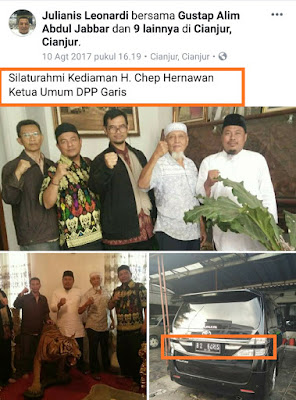 Prabowo Berakrab Ria Dengan Mantan Presiden ISIS Indonesia, Kondisi NKRI Makin Rawan