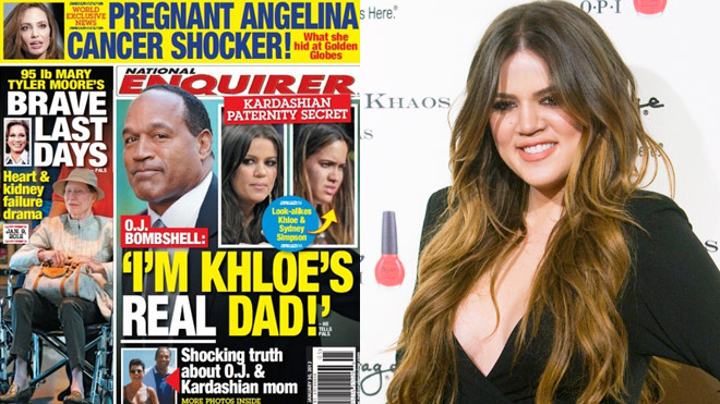 6d8562880 I don't think any of us really think that OJ Simpson is Khloe Kardashian's  father despite what The Enquirer seems to think. I also know that I am  pretty ...
