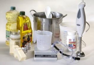 Szappan készítése hideg eljárással: III.Eszközök és formák