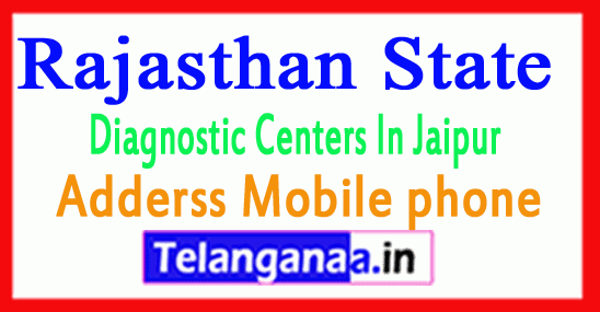 Diagnostic Centers in Jaipur Rajasthan