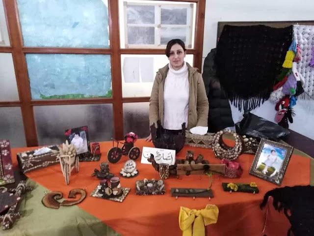 بازار للأعمال اليدوية بمشاركة أهل الفن التشكيليين والحرفيين في بانياس ملتقى البيادر