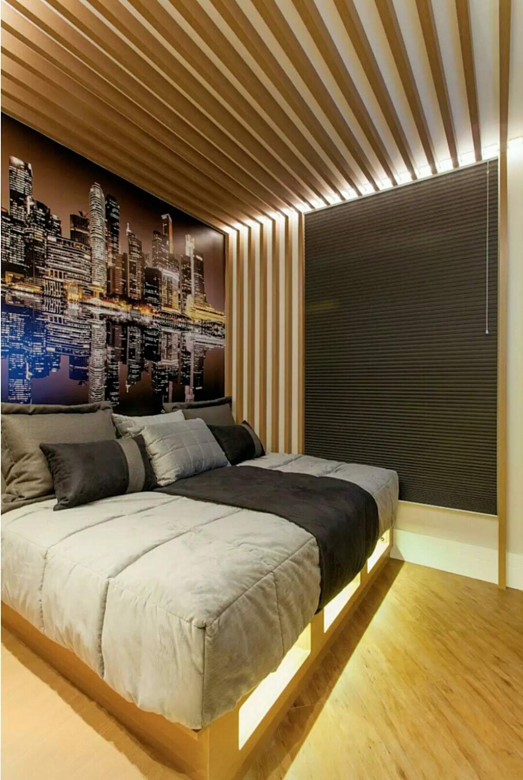 If you're planning to decorate your bedroom but you don't have any design idea and you don't know how to start. Here is some inspirational interiors design ideas to make awesome your bedroom. Check more fantastic design on below images.