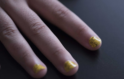 MAC Simpsons Cutie-cles Nail Stickers Review