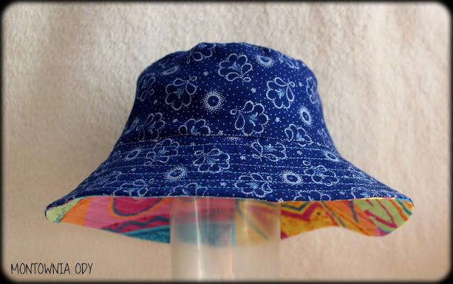 Jak uszyć dwustronny letni kapelusik?