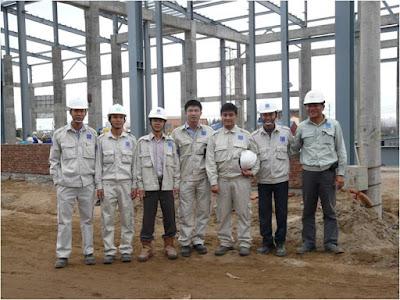 XKLĐ Nhật Bản ngành xây dựng: