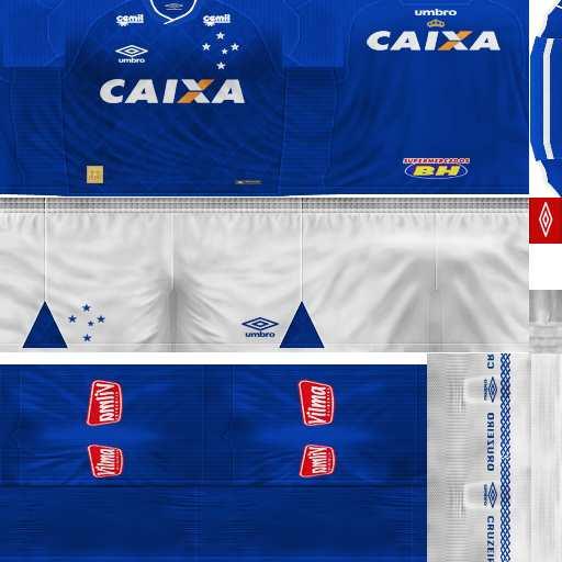 PES 6 Cruzeiro 2017/18 GDB Kits