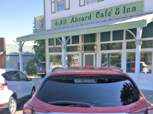 The All Aboard Cafe and Inn in Ely, Nevada