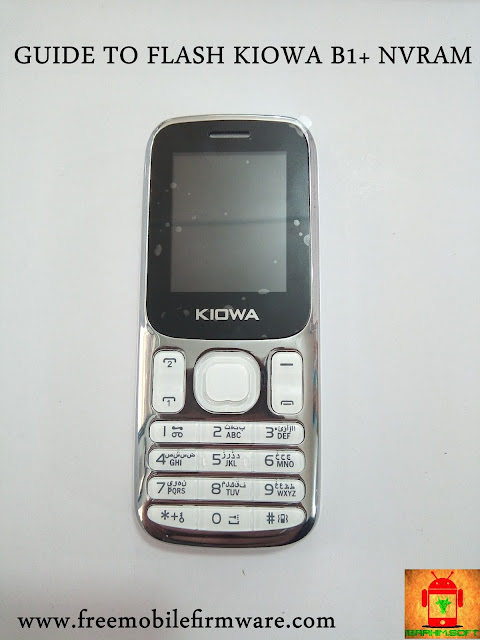 Guide to flash KIOWA B1 SC6531 Tested Firmware and Nvram