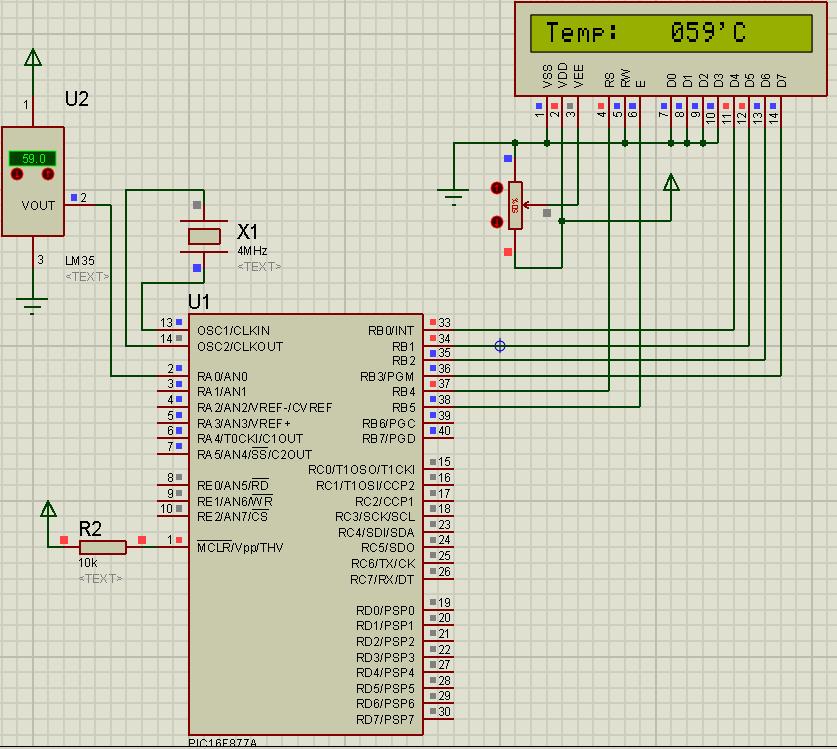 Tahmid's blog: Temperature Sensor (LM35 + PIC16F877A)