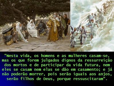 Evangelho de hoje (Mc 12,18-27) - Egídio Serpa | Egídio Serpa ...