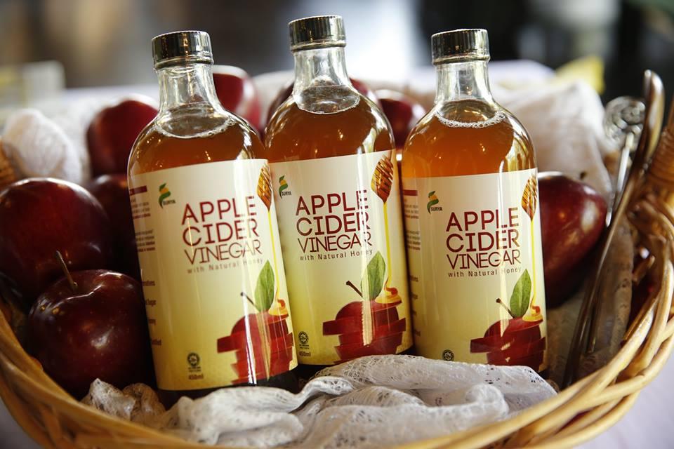 Kembalikan Tenaga Yang Hilang Dengan Apple Cider Vinegar