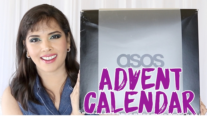 Contents, unboxing, review and full spoilers of the ASOS 24-day Beauty Advent Calendar 2018 - it ships worldwide free!