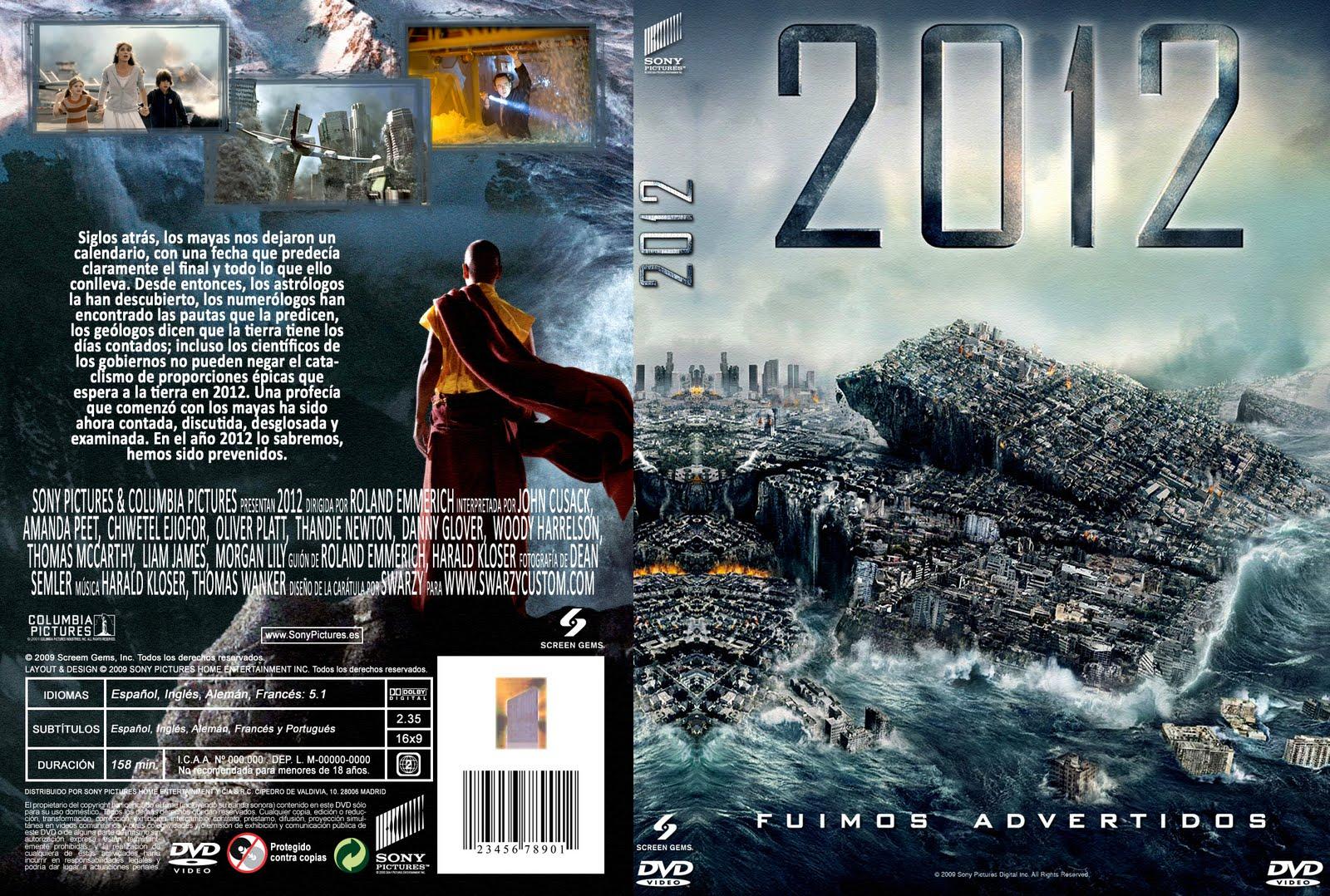 Caratula De 2012 Pelicula (DVD)