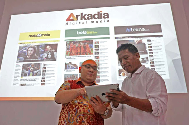 Media Digital Arkadia Lepas 150 Juta Saham ke Publik