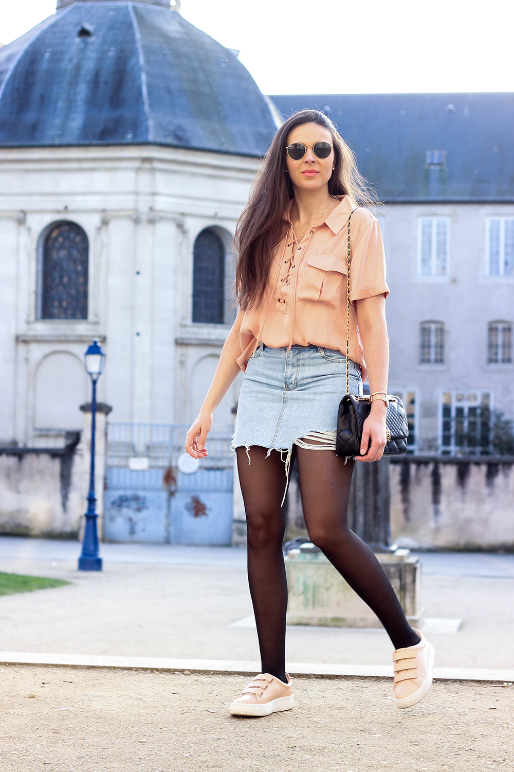 Street Style Legwear Looks Fashionmylegs The Tights And Hosiery