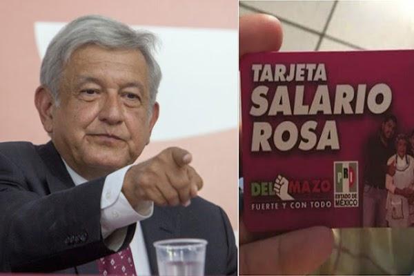 Para el INE NO es ilegal las Tarjetas Rosas, pero SÍ es ilegal que AMLO done 40 millones a los damnificados