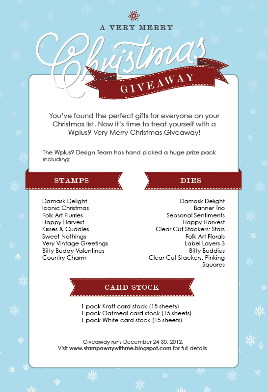 A Very Merry Christmas Giveaway! (1/2)