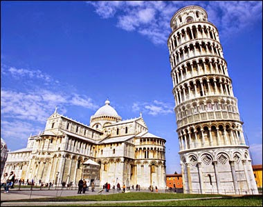 menara pisa,italia,menara,wisata italia,keajaiban dunia