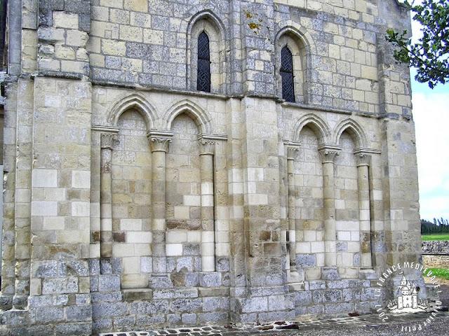 MALTOT (14) - Eglise romane Saint-Jean-Baptiste