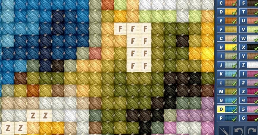 cross stitch world game on facebook