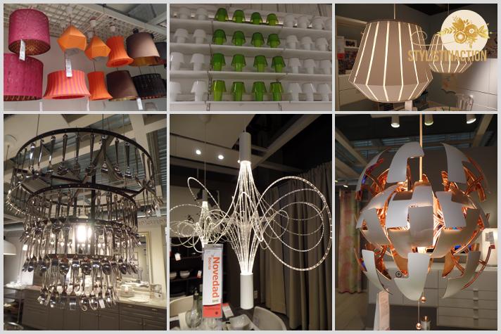 IKEA lamparas en exposicion Inspiracion por catalogo