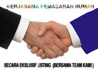 Kerjasama pemasaran rumah Depok, Pamulang, Bintaro, Tangsel