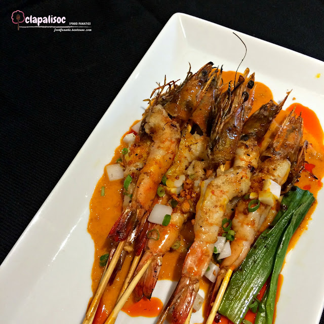 Grilled Prawn Skewers from Sarsa Kitchen + Bar