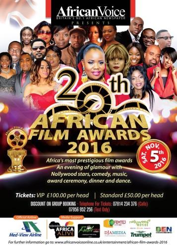 Africa Film Awards UK
