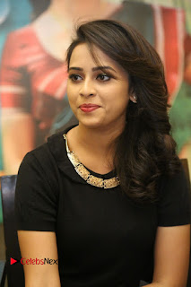 Actress Sri Divya Latest Pictures in Black Top  0200.JPG