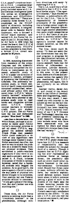 U.F.O. Files The Untold Story By Partick Huyghe (Pt 6A) - New York Times (10-14-1979)