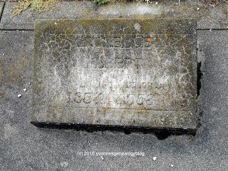 Gravemarker of Gilbert Grozelle