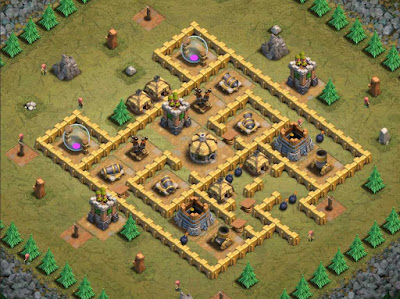 Goblin Base Clash of Clans Triple A