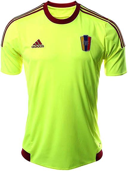 Adidas Venezuela 2015 Copa America Kits veröffentlicht Footy Schlagzeilen