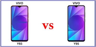 Vivo Y93 VS Vivo Y95 : Perbandingan antara Vivo Y93 dengan Vivo Y95