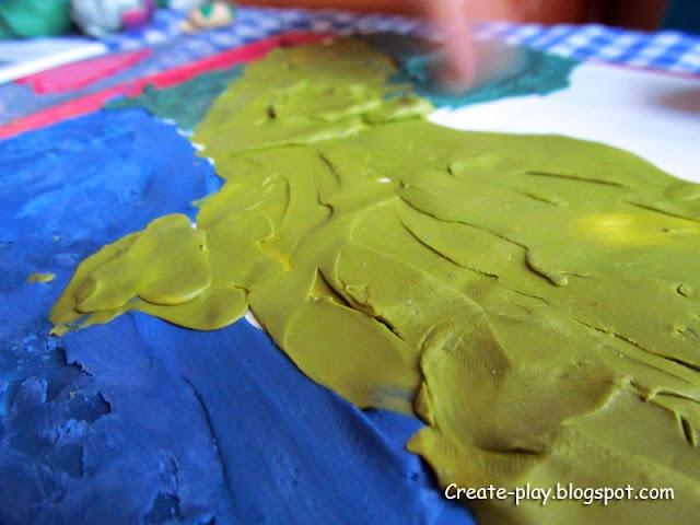 пластилинография рисуем пластилином