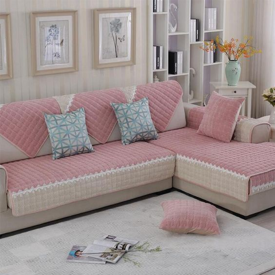 Modern Living Room Furniture Ideas: 40 Modern Sofa Cover Design Ideas For Furniture Protection